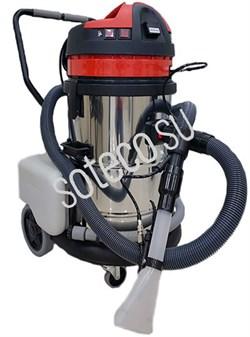 Soteco Tornado GS2/62 EX GAR - двухтурбинный моющий пылесос для автомоек - фото 22003